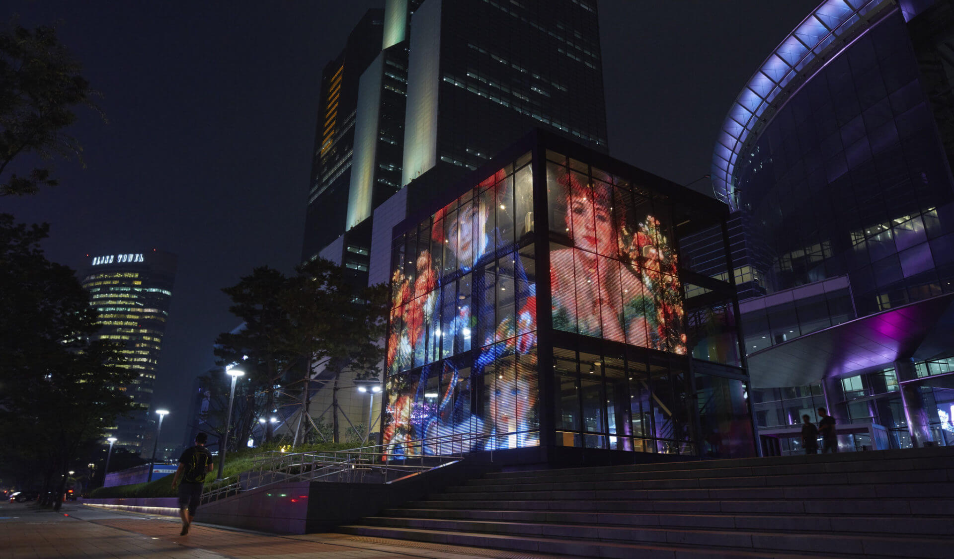 transparent led screens