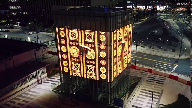 Public Art Transparent LED Glass Facade