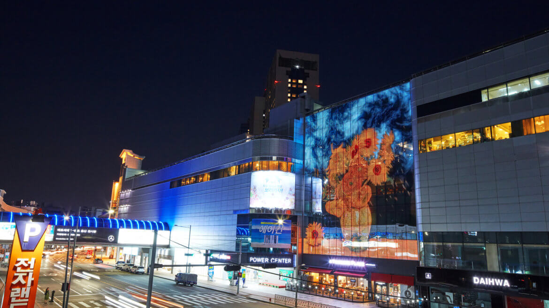 Transparent LED Digital Signage Displays